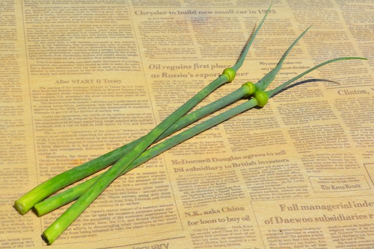 みんなの直売!野菜 『ニンニクの芽』レシピ追加♪