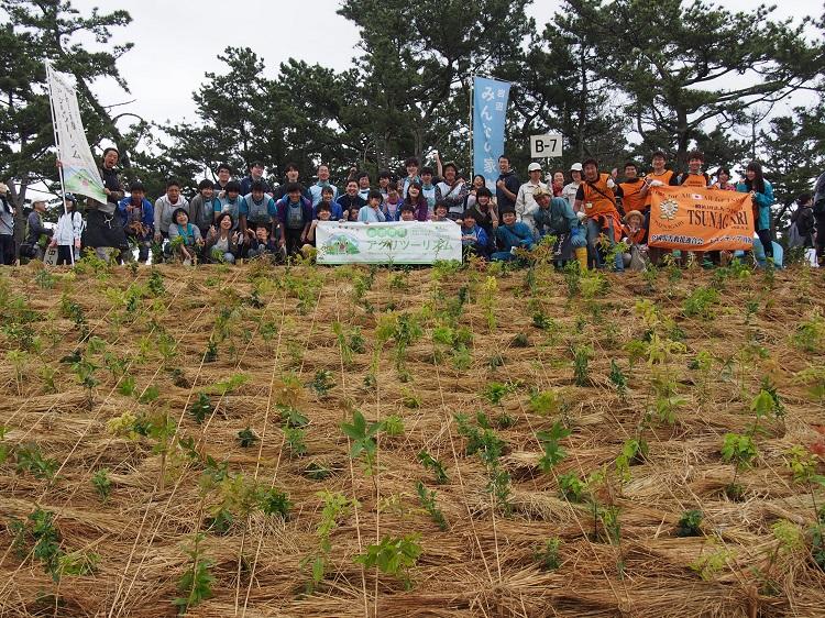 [レポート] みんなのアグリ!インフォコメ田植え&「千年希望の丘」植樹祭2017