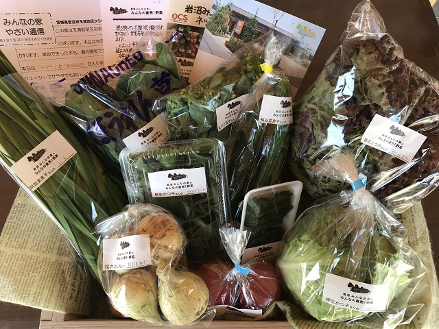 4月21日(土)に出荷した野菜はコチラです!