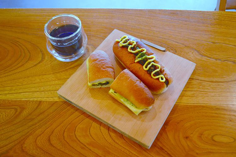 出来立てのサンドイッチに、新顔登場です!