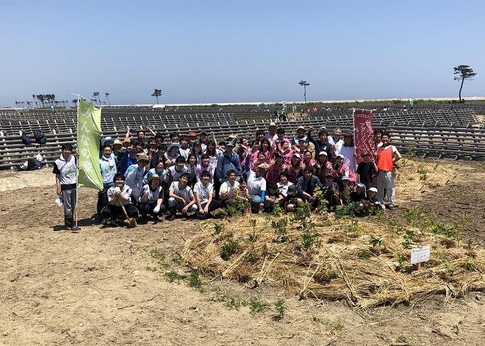 """[レポート] みんなの荒浜植樹祭""""復興支援ありがとうの森2020""""+いわぬまひつじ村農業体験ツアー"""
