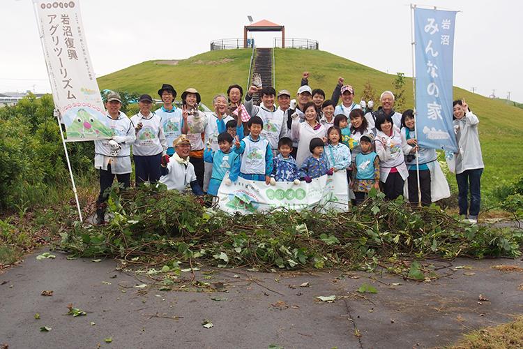 みんなの「千年希望の丘」育樹祭2018秋+いわぬまひつじ村農業体験&みんなの秋祭りツアー開催!