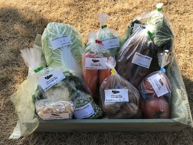 12月21日(土)に出荷した野菜はコチラです!